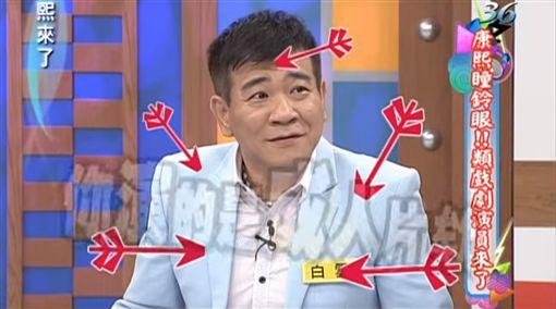 康熙來了,白雲,小S,蔡康永,徐熙娣,陳漢典(圖/翻攝自YouTube)