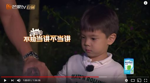 嗯哼,杜江,爸爸去哪兒(圖/翻攝自《湖南衛視芒果TV》YouTube頻道)