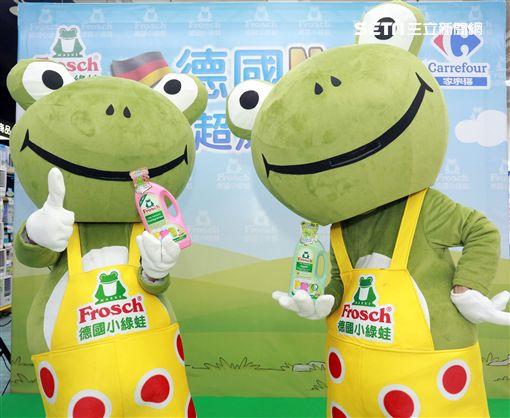 永豐餘邀德國小綠蛙跳進台灣!家樂福推買一送一
