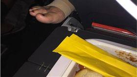 飛機,腳趾,飛機餐,澳洲航空,Reddit,乘客 圖/翻攝自Reddit
