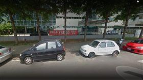 台中大立光徵才紅布條(圖/翻攝自Google Map)