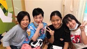 楊月娥,小蓁,女兒,血癌,張小燕(圖/翻攝自楊月娥臉書)