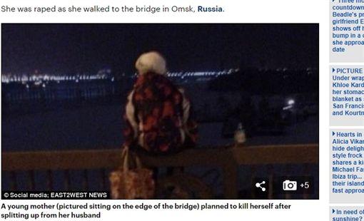 俄羅斯,鄂木斯克,Omsk,女子,性侵,自殺(圖/翻攝自每日郵報)