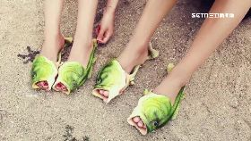 防雨潮魚鞋1800