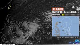 j圖/翻攝自台灣颱風論壇