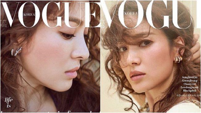 喬妹登雜誌封面超唯美 網友:被美哭