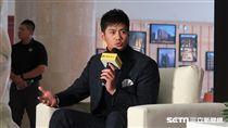 ▲旅美投手陳偉殷回國記者會。(圖/記者王怡翔攝)