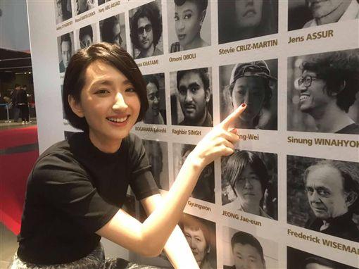▲柯佳嬿前往參加釜山影展。(圖/翻攝自謎絲 Myth臉書)