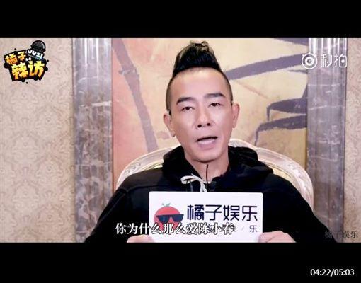 ▲陳小春甜談應采兒。(圖/翻攝自秒拍)