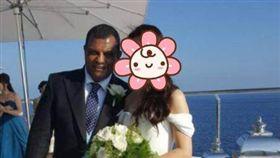 亞洲航空,AirAsia,CEO,嫩妻,新娘,婚禮,結婚(圖/翻攝自推特Carmenn Wong)