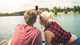 情侶、自拍、合照/pixabay