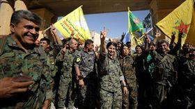 敘利亞,IS,伊斯蘭國,拉卡,敘利亞民主力量,收復 圖/路透社/達志影像