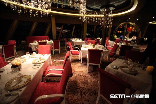 歌詩達新浪漫號,義大利私廚,餐廳(圖/記者簡佑庭攝)
