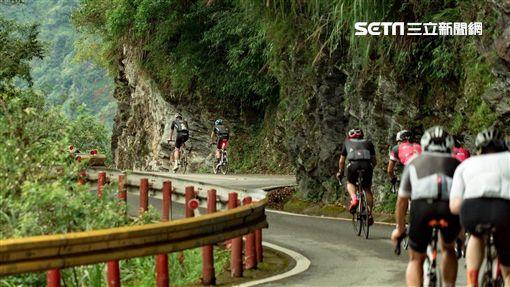 世界十大最艱難自行車登山賽之一,台灣自行車登山賽。(圖/交通部觀光局提供)