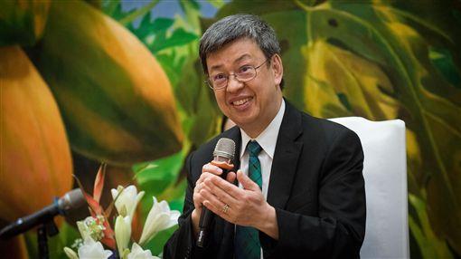 陳建仁副總統接見「第五屆太平洋島國青年領袖培訓計畫」訪團。(總統府提供)