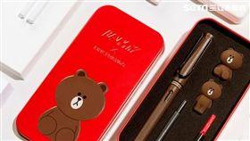 多圖/快搶!紅色鐵盒裝的熊大鋼筆限量開賣