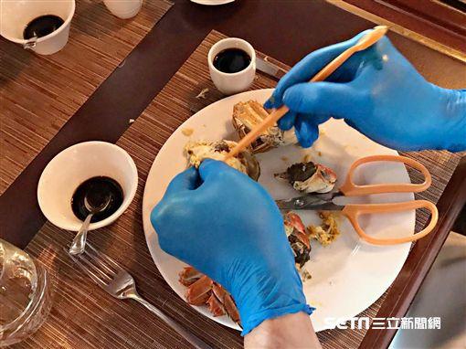 大閘蟹,螃蟹,秋蟹,螃蟹吃法。(圖/記者簡佑庭攝)