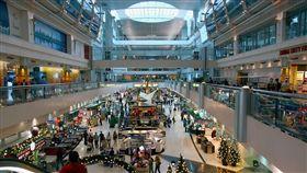 杜拜,機場,設計,安檢,走道,海底世界 圖/翻攝自維基百科