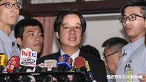 行政院長賴清德20日赴立法院備詢。 圖/記者林敬旻攝