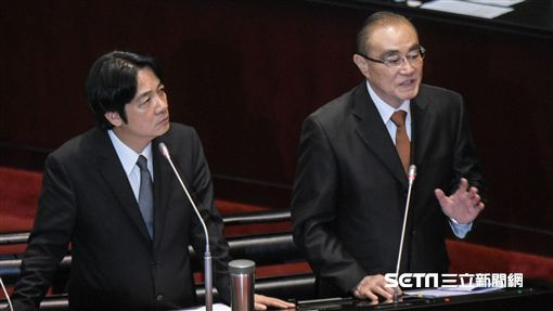 行政院長賴清德、國防部長馮世寬 圖/記者林敬旻攝