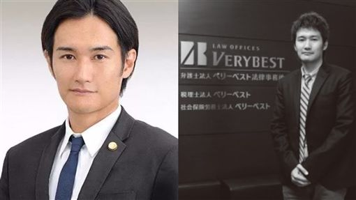 日本女星高部愛律師老公疑似是酒井將。(圖/翻攝自vbest、激裏情報gekiura)