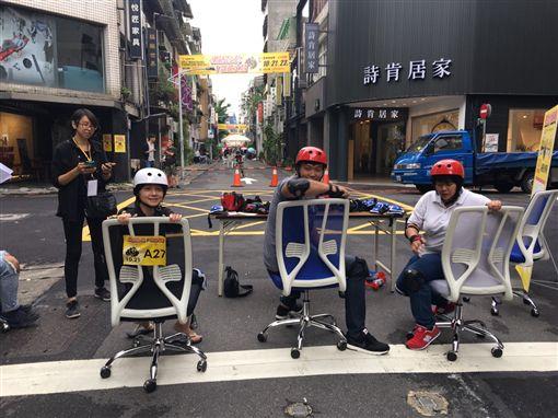 文昌街辦公椅飆速活動。