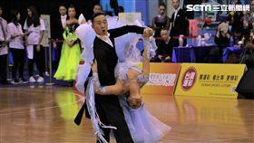運動舞蹈,國標舞,林立(圖/記者劉家維攝)