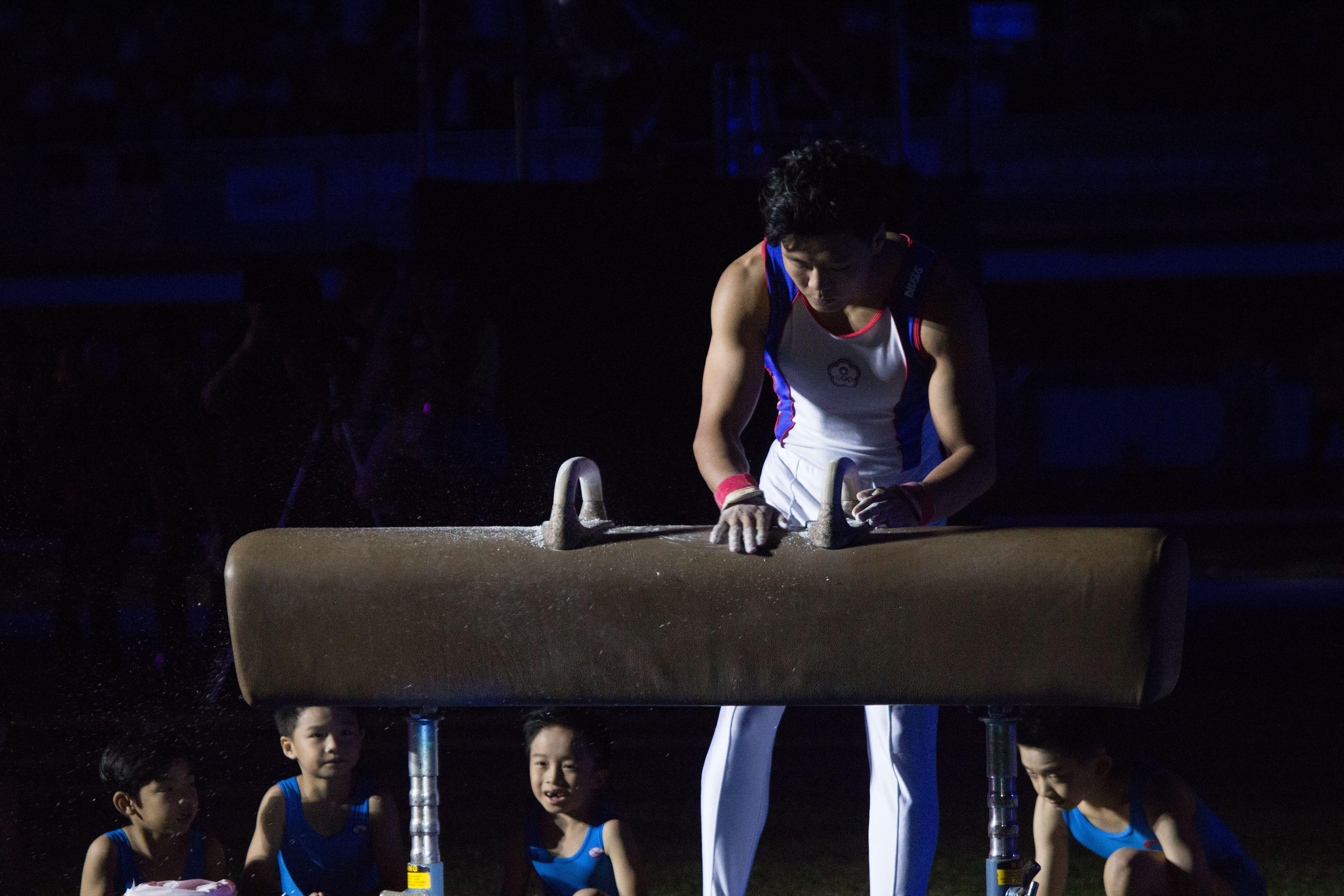 ▲106年全國運動會開幕典禮,體操國手唐嘉鴻。(圖/記者蔡宜瑾攝影)