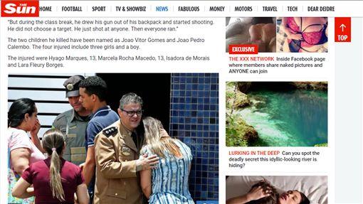 巴西,Goiania,學校,槍擊案,霸凌(the sun https://www.thesun.co.uk/news/4732646/brazil-schoolboy-school-shooting-colegio-goyases-goiania/)