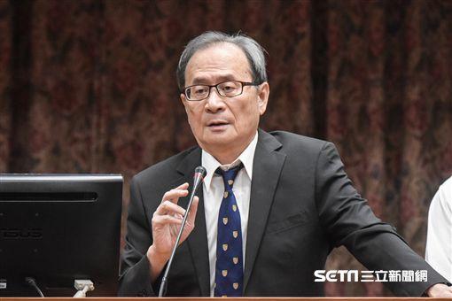 原能會主委謝曉星 圖/記者林敬旻攝