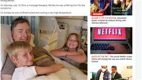 英國,敗血症,腦膜炎,截肢,樂觀,手術,病情,感冒,生病,病魔 https://www.thesun.co.uk/news/4739815/dad-sepsis-legs-hands-amputated-wales/