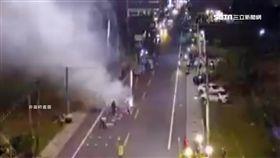 驚險!高空煙火低空爆炸 1人手腳燒傷 SOT