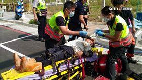 台中傳工安意外!發電機放地下水道 3工人吸廢氣昏迷送醫