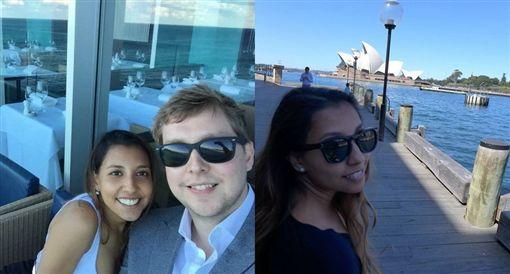 飛機故障急墜…律師「死前」緊抱女友求婚 結果惹淚崩圖/臉書