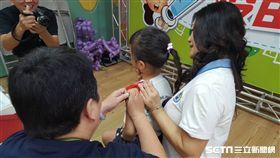 6歲以下幼兒是罹患流感及流感併發重症的高危險族群,流感疫苗是預防流感最有效的方法。(圖/台南市衛生局提供)