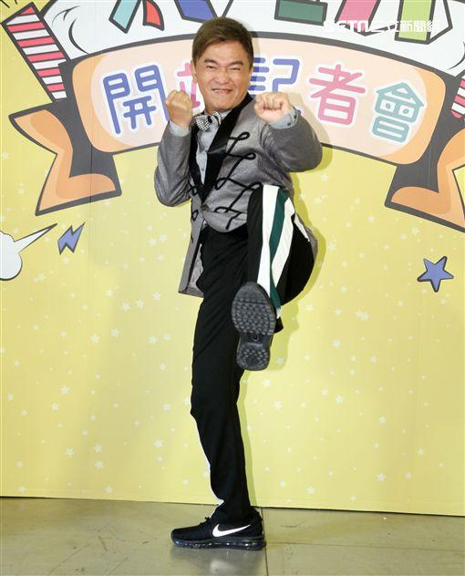 吳宗憲出席好玩網站開站掛牌儀式。(記者邱榮吉/攝影)