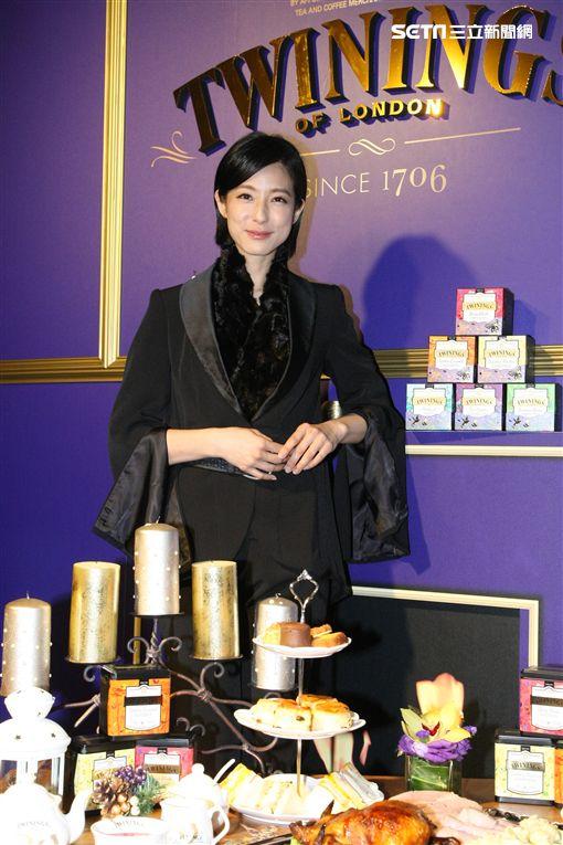 20171024-賴雅妍出席西洋茶品牌大使發表會