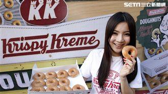 甜粉有喜!美式甜甜圈進駐高鐵桃園站