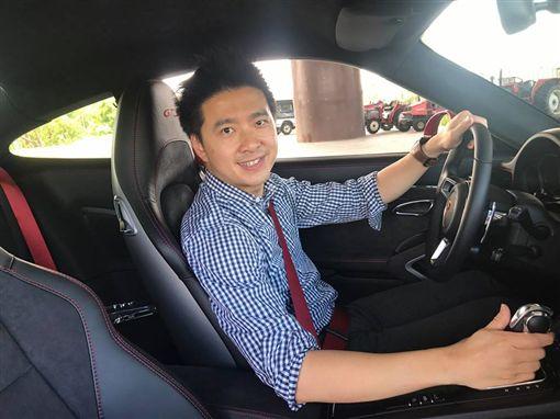 林志穎的弟弟林志鑫。(翻攝自林志鑫臉書)