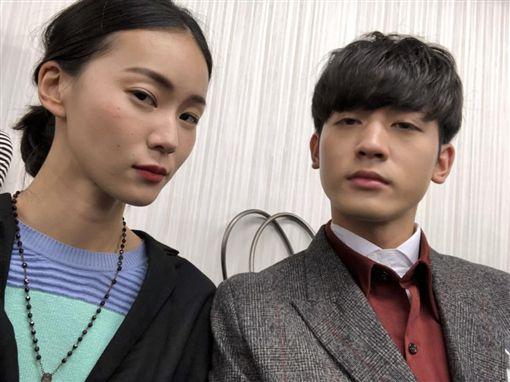 ▲鍾瑶和小樂赴日宣傳新戲。(圖/翻攝自臉書)