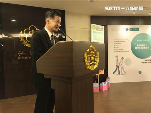 法務部長邱太三。記者潘千詩攝影