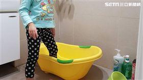 驚!高達8成孩童曾於浴室滑倒 恐造成心理創傷 李鴻典攝
