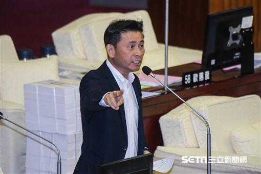 國民黨台北市議員戴錫欽 圖/記者林敬旻攝