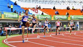 ▲女子400公尺跨欄。(圖/全運會提供)