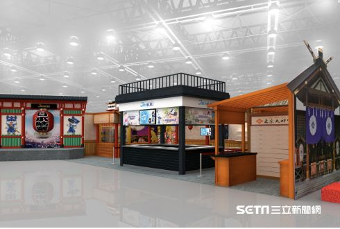 台北國際旅展,JAPANKURU展攤。(圖/日本旅遊情報網站JAPANKURU提供)