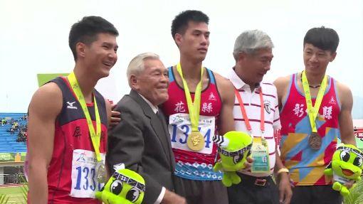 台灣最速男 楊俊瀚全運會奪三金