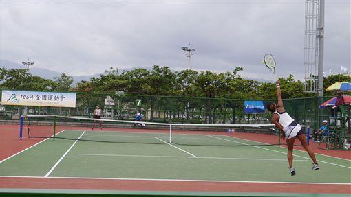 ▲全運會網球賽。(圖/全運會提供)