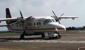 飛機引擎吸入飛鳥 蘭嶼飛機停飛(2)