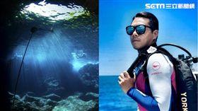 國際知名的水中攝影專家Yorko Summer累計超過6000潛以上的水下拍攝經驗。(圖/馬里亞納觀光局提供)