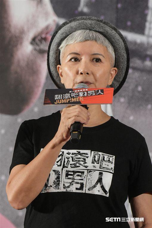 翻滾吧男人監製李烈出席首映記者會 圖/記者林敬旻攝